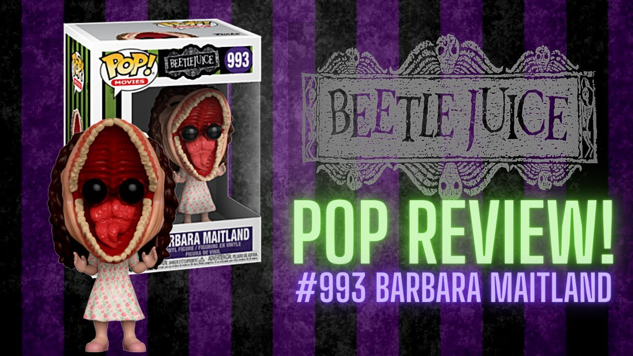 Funko POP Film BEETLE JUICE Barbara Maitland #993