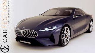 BMW 8 Series Concept: Designer Tour - Carfection