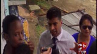 Several residents in South West Trinidad lost the roofs to their ho...