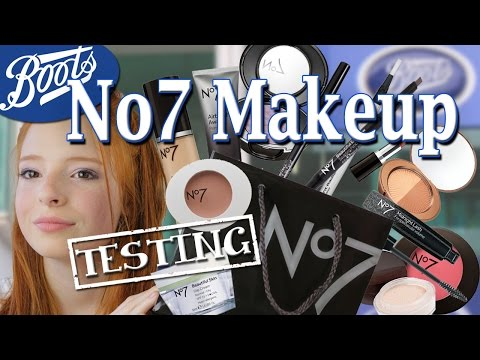 Boots No 7 Makeup Review / Testing Drugstore Makeup & Cosmetics | NiliPOD
