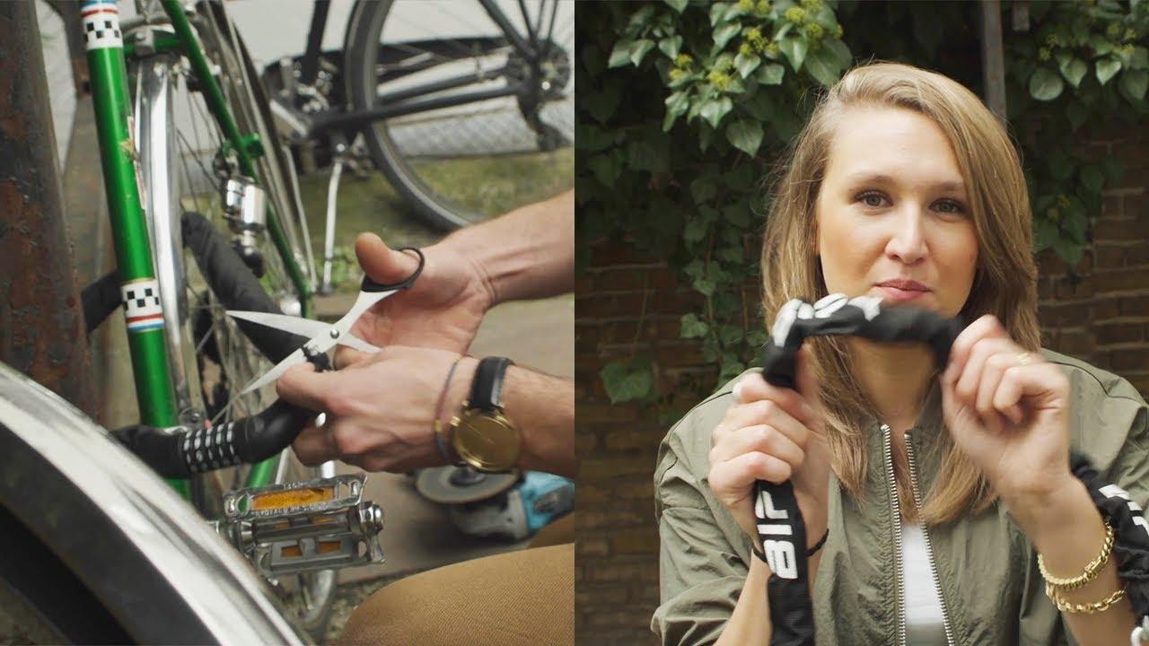 Bify Schloss Geknackt Kettenschloss Test Fahrradschlosser