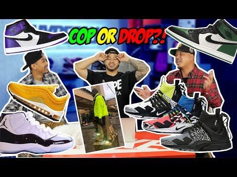 AFFORDABLE SNEAKER RELEASES! COP OR DROP?! - WHAT SNEAKERS WILL WE BE GETTING?