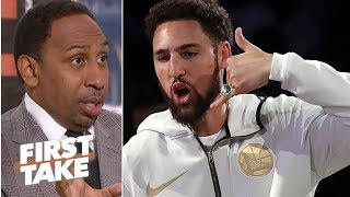 Klay Thompson is key to LeBron's quest for a Lakers championship - Stephen A. | First Take