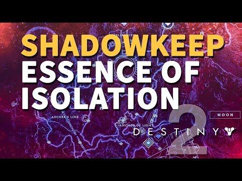 Essence Of Isolation Destiny 2 Quest