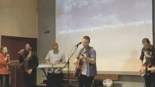 Notre Dieu est plus grand - (Chris Tomlin) - Groupe HOSANNA