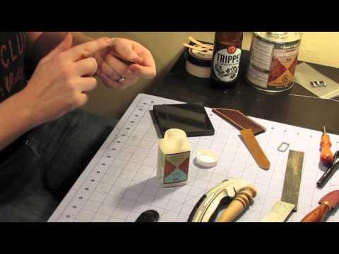 Making a Watch Strap by Bo Kristensen