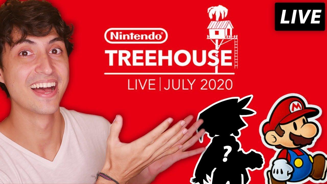 Nintendo Treehouse Live! Revelação do NOVO Gameplay de Paper Mario e Jogo da Wayforward