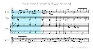 Varshaver Freylekhs ( Klezmer Tune)