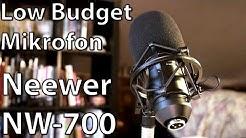 Das Low-Budget-Mikrofon - Neewer NW-700 ausprobiert! Das perfekte Mikro, wenns günstig sein muss?