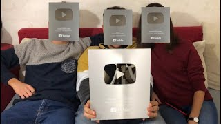 USCIAMO LE FACCE!! 100k SILVER PLAY BUTTON CREATOR AWARD