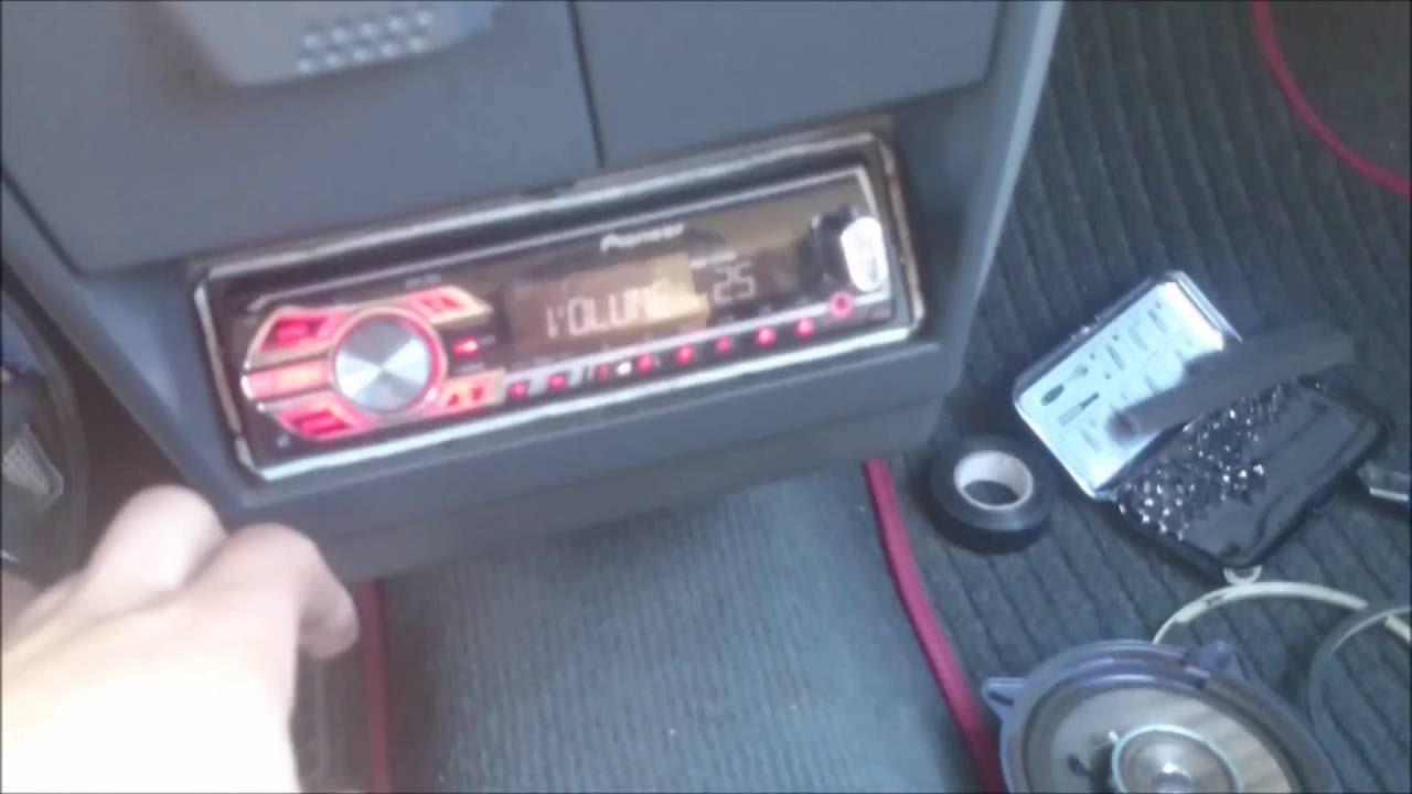 Peugeot 205 Speakers Upgrade Youtube Mi16 Wiring