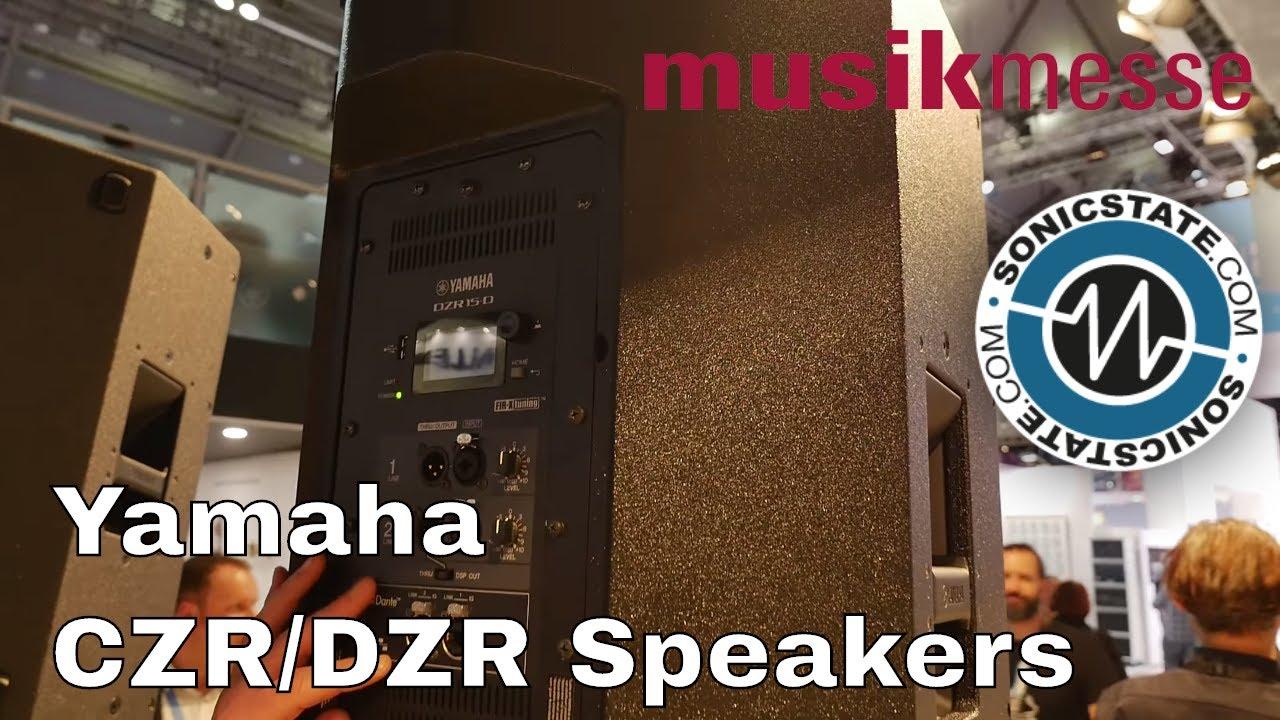 MESSE 2018: Yamaha CZR and DZR Speakers