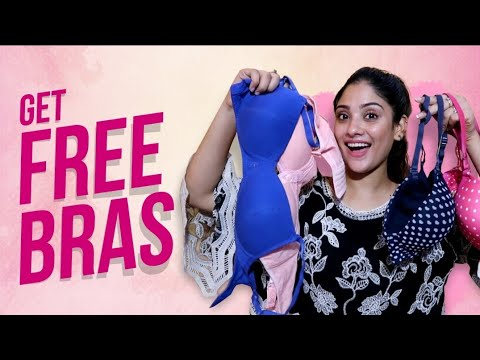 How to Get free bra's or lingerie  + giveaway || shystyles thumbnail