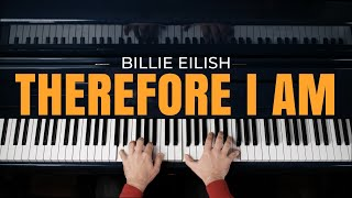 Billie eilish - therefore i am (epic dark piano cover)