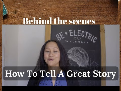 Behind The Scenes of How To Tell A Great Story: Amy Wong Interview