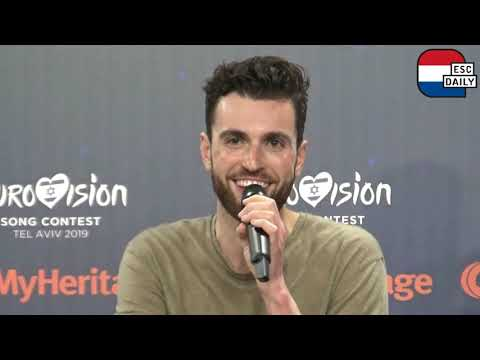 """Duncan Laurence: """"Just search for that red light, and you'll be fine�"""
