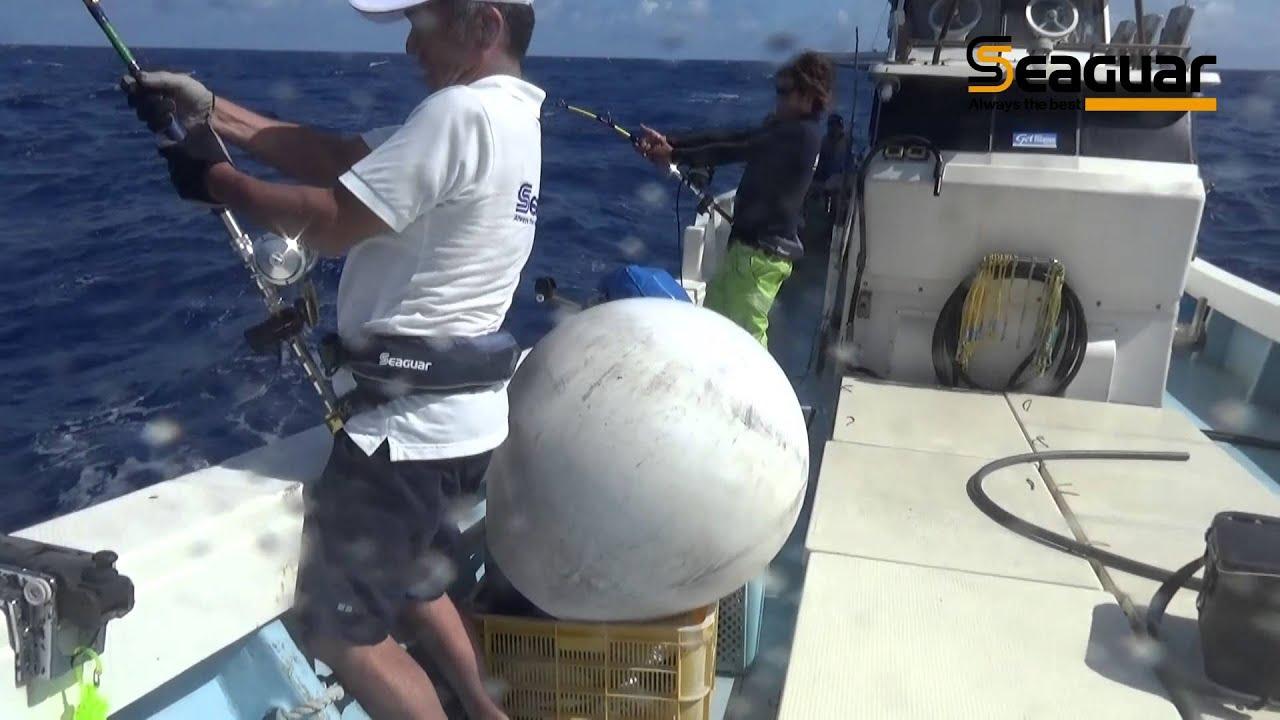 SEAGUAR 120/% FLUOROCARBON OFFSHORE FISHING LEADER PREMIUM MANYU