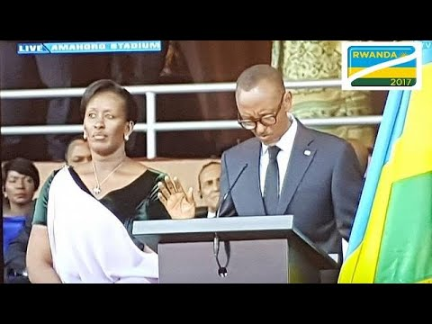 [LIVE] Rwanda's Paul Kagame takes oath of office for third term