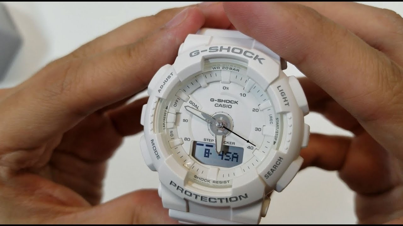 ef11a06be5cc G-shock S series step tracker GMA-S130-7A Unboxing - YouTube