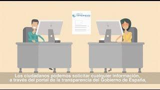 Derecho de acceso a la información pública. Portal de la Transparencia del Gobierno de España
