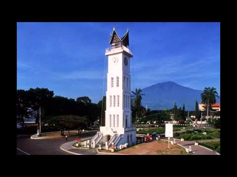 beautiful sights in western Sumatra Indonesia
