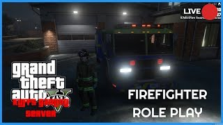 🚨FIREFIGHTER AND EMS IN PALETO BAY GTA 5 !!🚨KUFFS GAMING ROLEPLAY SERVER !!!!! ONLINE !!!🔵