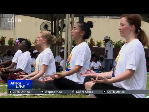 Nigerians use yoga for physical, spiritual, mental well-being