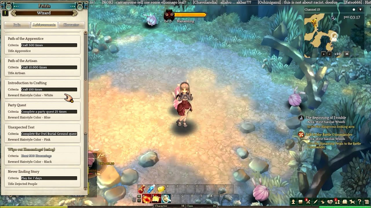Tree Of Savior En Español Quest Para Cambiar El Color De Cabello - Hairstyle color tree of savior