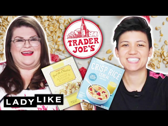 We Try Every Trader Joe's Cereal • Ladylike