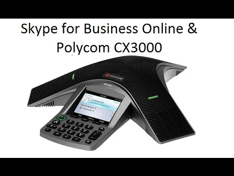 skype for business in office 365 anbinden eines polycom. Black Bedroom Furniture Sets. Home Design Ideas