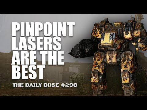 Pinpoint Laser Dragon DRG-1C - Mechwarrior Online The Daily Dose #298