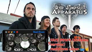 Red Jumpsuit Apparatus-Face Down(screamo vrsion)Realdrum Cover
