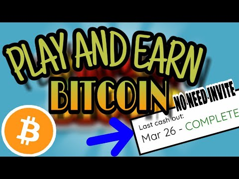 HOW TO EARN BITCOINS BY JUST PLAYING GAMES | WITH PROOF OF PAYOUT | NO INVITING