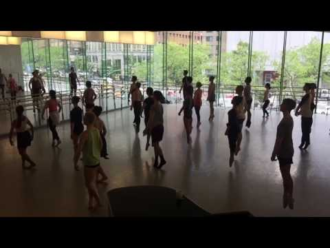 Last #ballet #dance class at #Juilliard