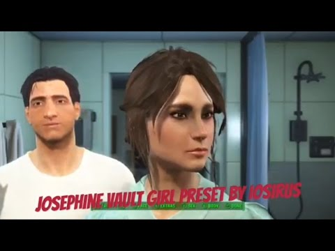 Fallout 4 Xbox One Mods|Josephine Vault Girl Preset
