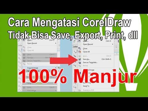100% AMPUH Cara Install Corel Draw X7 Agar tidak Terdeteksi Bajakan Illegal Copy Viewer Mode.
