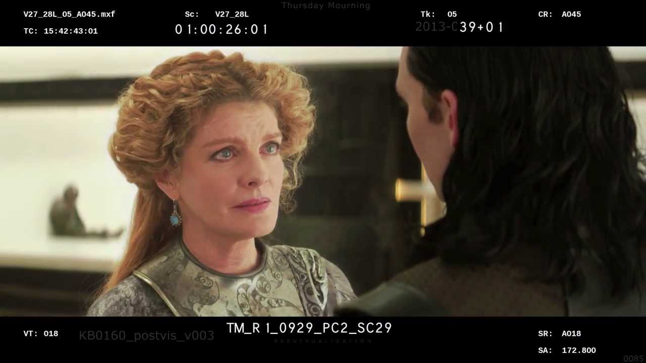 Thor : Le Mondes des Ténèbres - BONUS - Scène rallongée : Thor et Frigga parlent de Loki