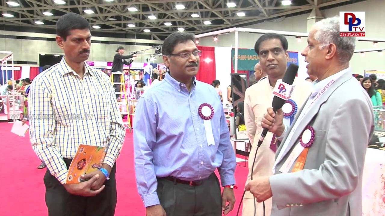 Ravi Kandimalla,NATA Board of Director speaking to Desiplaza TV  at NATA Convention 2016