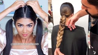 New Viral Hairstyles Compilation 2018 + DIY Hair Transformation Tutorials