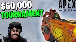 $50,000 Tournament Code Red - I Eliminated DrDisrespect (Apex Legends)