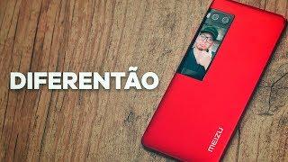 APAIXONANTE! LINDO, DIFERENTE, ÓTIMAS SELFIES! Smartphone Meizu pro 7 unboxing