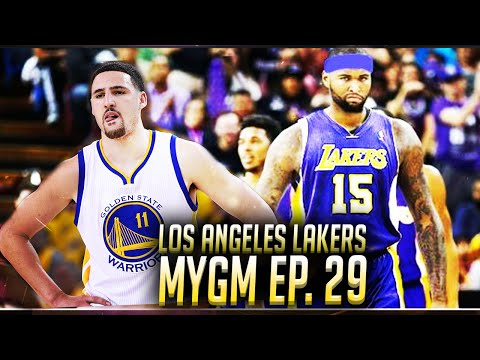 NBA2K16 Lakers MyGM Ep. 29 - Playoffs! Getting Swept? VS Golden State Warriors!