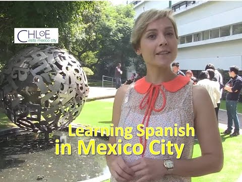Learning Spanish in Mexico City