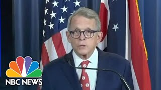 Ohio Governor: States Coronavirus Case Surge Involves 'Younger Ohioans' | NBC News NOW