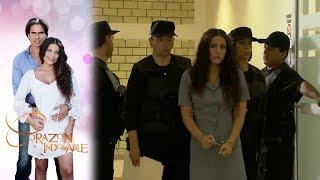 Maricruz es trasladada a prisión | Corazón indomable - Televisa