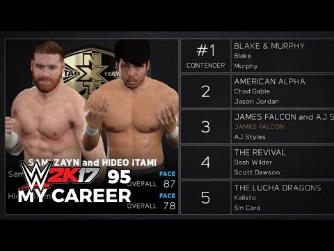 WWE 2K17 My Career Mode Ep 95 | NXT TAG TEAM CHAMPIONSHIPS