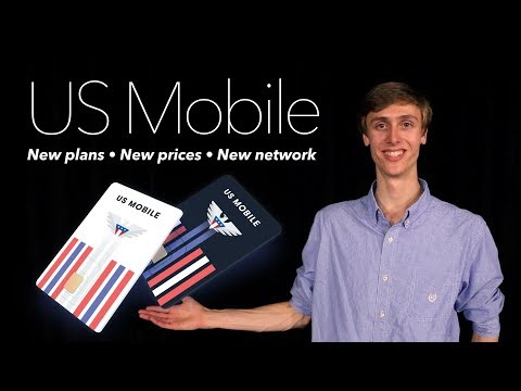 US Mobile Update - New Plans, Prices and Network!