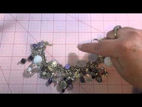 Charm Bracelet Tutorial #4 - the Finished Bracelet