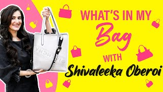 Shivaleeka Oberoi REVEALS What's in her Bag | Fashion | BOI | Yeh Saali Aashiqui |  Khuda Haafiz