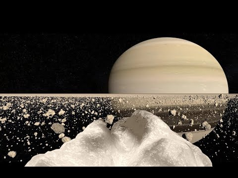Standing on Saturn's Rings
